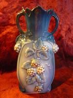 Antik osztrák porcelán ibolya váza 200612
