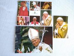 II, János Pál pápa képeslapok