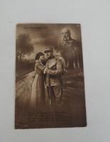 Első világháborús levelezőlap képeslap (AA-0612)