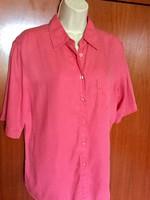 Marks&Spencer UK -14-es finom selymes pink színű blúz ,új állapotban olcsón eladó!
