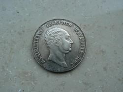 MAXIMILIANUS JOSEPHUS BAJOR EZÜST TALLÉR (KORONATALLÉR) 1814 (29,3g)