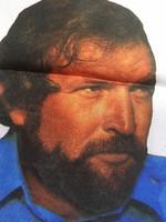 Bujtor István felvarrható textil képe