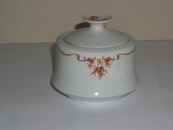 Retro Alföldi porcelán cukortartó