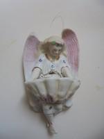 Porcelán szenteltvíztartó