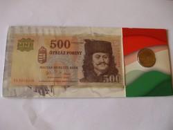 500 Forint - 50 Forint  2006 ! Csak 12000 db. ! 1956 - os Magyar Forradalom Évfordulója !