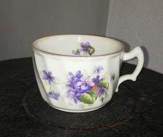 Gyönyörű ritka Zsolnay Ibolyás csésze, Gyűjtői Gyönyörű szépség