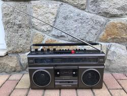Videoton RM5642 S katettás rádiósmagnó retro antik vintage régi