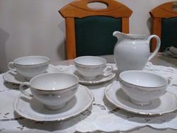 TK Thun teás, kakaós készlet 1920-ból