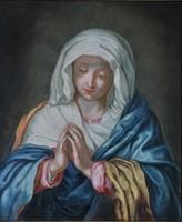  Giovanni Battista Salvi da Sassoferrato (1609-1685) követője: Madonna Immaclata