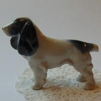 Német porcelán Metzler-Ortloff spániel kutya