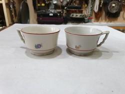 2db régi zsolnay káves csésze