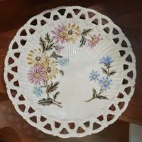 Gyönyörű Steidl porcelán fali tányér, 20 cm átmérővel, hibátlan