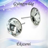 925-ös sterling ezüst-Swarovszki kristály fülbevaló SF-ESWR01-16