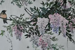 Ismeretlen kóreai művész, Virágzó ág madárral