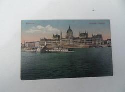 1918-as antik Budapest Országháza Parlament képeslap Soproni címzett