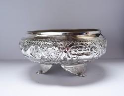 Káprázatos burmai ezüst tál!