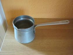 Retró alumínium kávémelegítő
