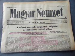 Német seregek megállták helyüket a többszörös túlerő ellen   - Magyar Nemzet 1943