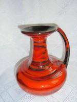 Szignált iparművészeti kerámia váza