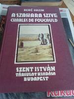 René Bazin A Szahara szíve régi szép könyv