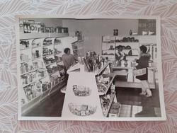 Retro ABC fotó régi élelmiszerbolt fénykép