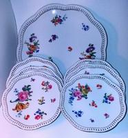 Antik Bavaria 6 személyes süteményes