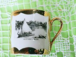 Gyűjtői antik balatoni, Siófoki emlék csésze. GYŰJTŐKNEK!