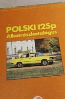 POLSKI125 gépjármű könyv 486