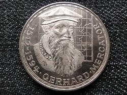 Németország Gerhard Mercator halálának 375. évfordulója .625 ezüst 5 Márka 1969 F (id22947)