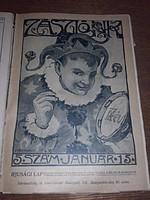 Antik évkönyv - ZÁSZLÓNK  ifjúsági lap,  IX. évfolyam  1910-1911  - ÚJSÁG