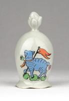 1B117 Húsvéti porcelán csengő 7 cm