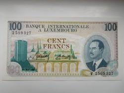 Luxemburg 100 francs 1968 UNC Nagyon Ritka!