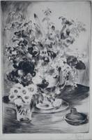 Biai-Föglein István (1905-1974): Asztali csendélet