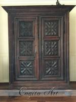 1700 körüli spanyol Barokk szekrény