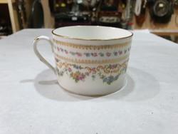 Régi francia teás csésze