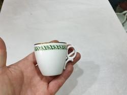 Régi porcelán kávés csésze