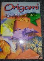 Origami papírhajtogatás, alkudható!