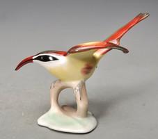 Budapesti Aquincumi csodaszép madárka,  a volt Hüttl Tivadar gyárból, jelzett.