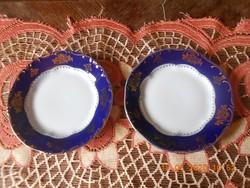 Zsolnay Pompadour I. süteményes tányérok