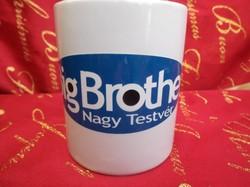 Porcelán - BIG BROTHER - bögre - 3 dl - hibátlan