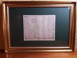 László Gyula : Szünetben ( 77/100) kerettel : 49X69 cm