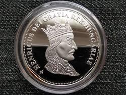 Királyi Koronák Utánveretben Henrik 5 korona .999 ezüst PP (id23436)