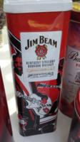 Limitált kiadású Jim Beam,nagyon ritka fém italos dísz doboz
