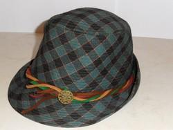 Tiroli kockás kalap ( 57-es )