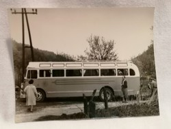 Régi busz fotó 1962