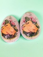 Retró pappír tojások gyűjtőnek