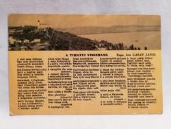 Garay János Tihanyi Visszhang képeslap