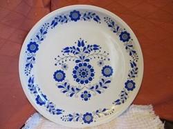 Alföldi kék mintás fali tányér