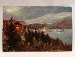 Magas-Tátra képeslap