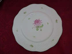 Herendi porcelán süteményes tányér, átmérője 20 cm. Típusa: 519..